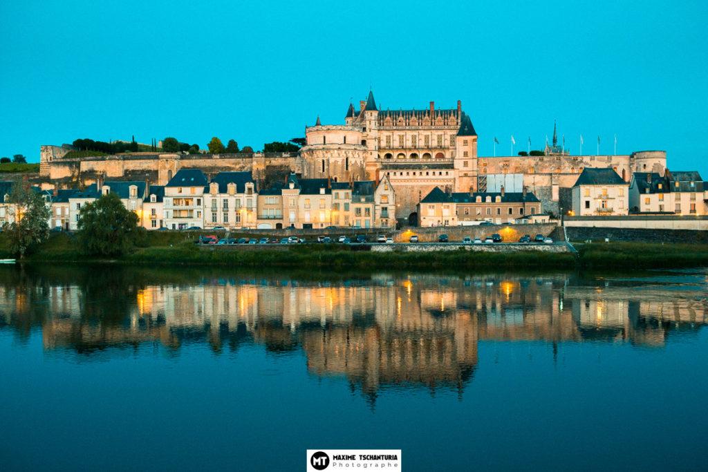 Château d'Amboise à l'heure bleue, Max Photographe Tours