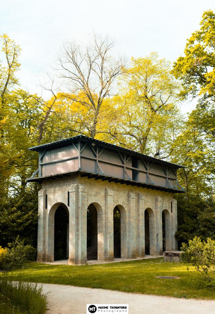 Chateau d'Eau dans les jardins de Chaumont-Sur-Loire