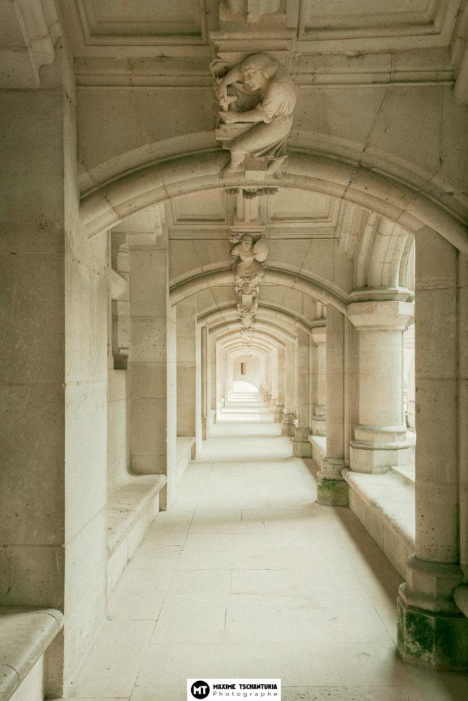 Arcade au Château de Pierrefonds, par Max Photographe professionnel Tours