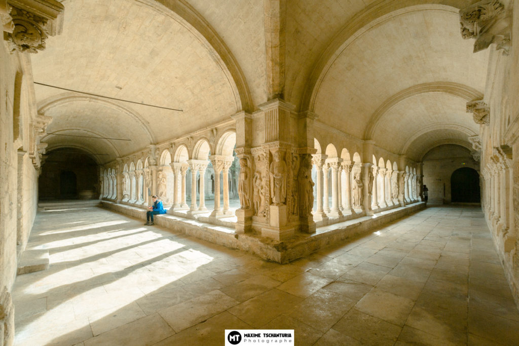 Arcades au Cloitre d'Arles, MaxPhotographe