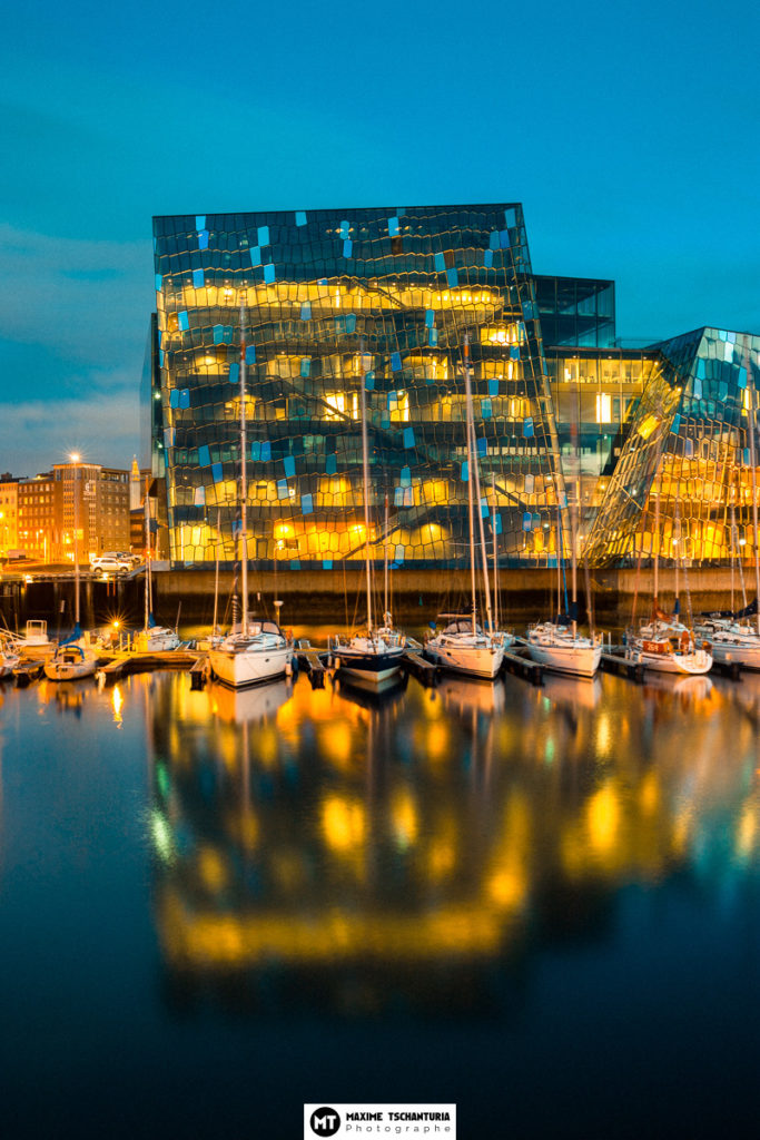 Centre des congrès Harpa, Reykjavik, Islande - Max Photographe