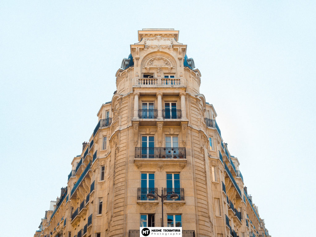 Immeuble Haussmannien, Paris, Max Photographe