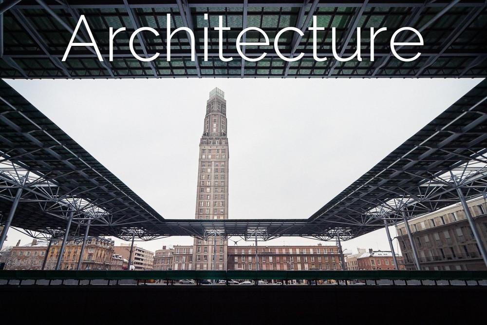 Photographies d'architecture par Maxime Tschanturia, photographe professionnel