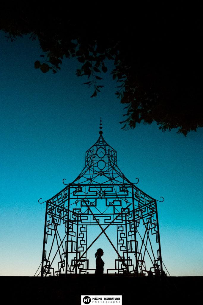 Photo art : Promenade à l'heure bleue - Maxime Tschanturia, photographe professionnel Tours